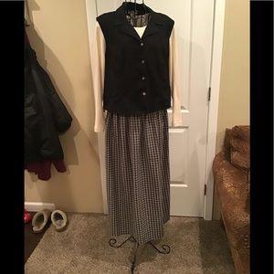 Woman's plus size long dress